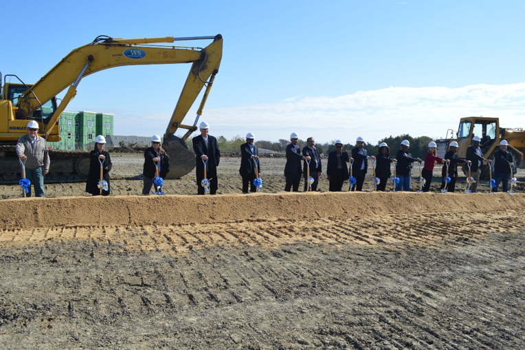 Comfort Suites Ground Breaking